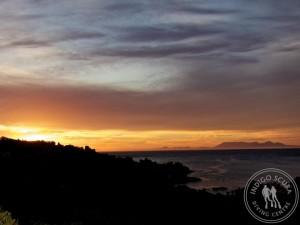 Sunset at Balcony