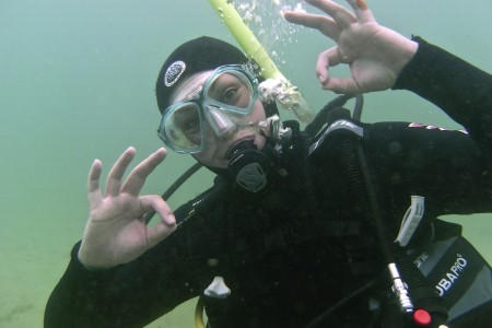 How to Stop Your Scuba Mask Fogging up