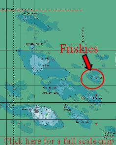 map of Friskies Pinnacle