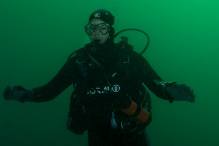 Real Divers:  Louis van Niekerk