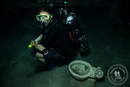Real Divers:  Kerri van der Berg