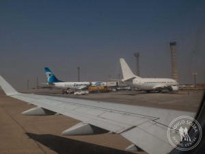 Planes at Cairo Airport