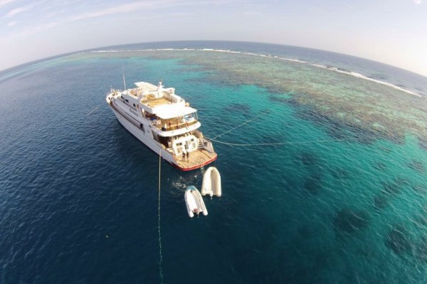 Indigo Scuba joins forces with M.Y. Galaxy in the Red Sea