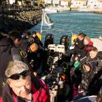 The divers aboard Indigo Scuba boat