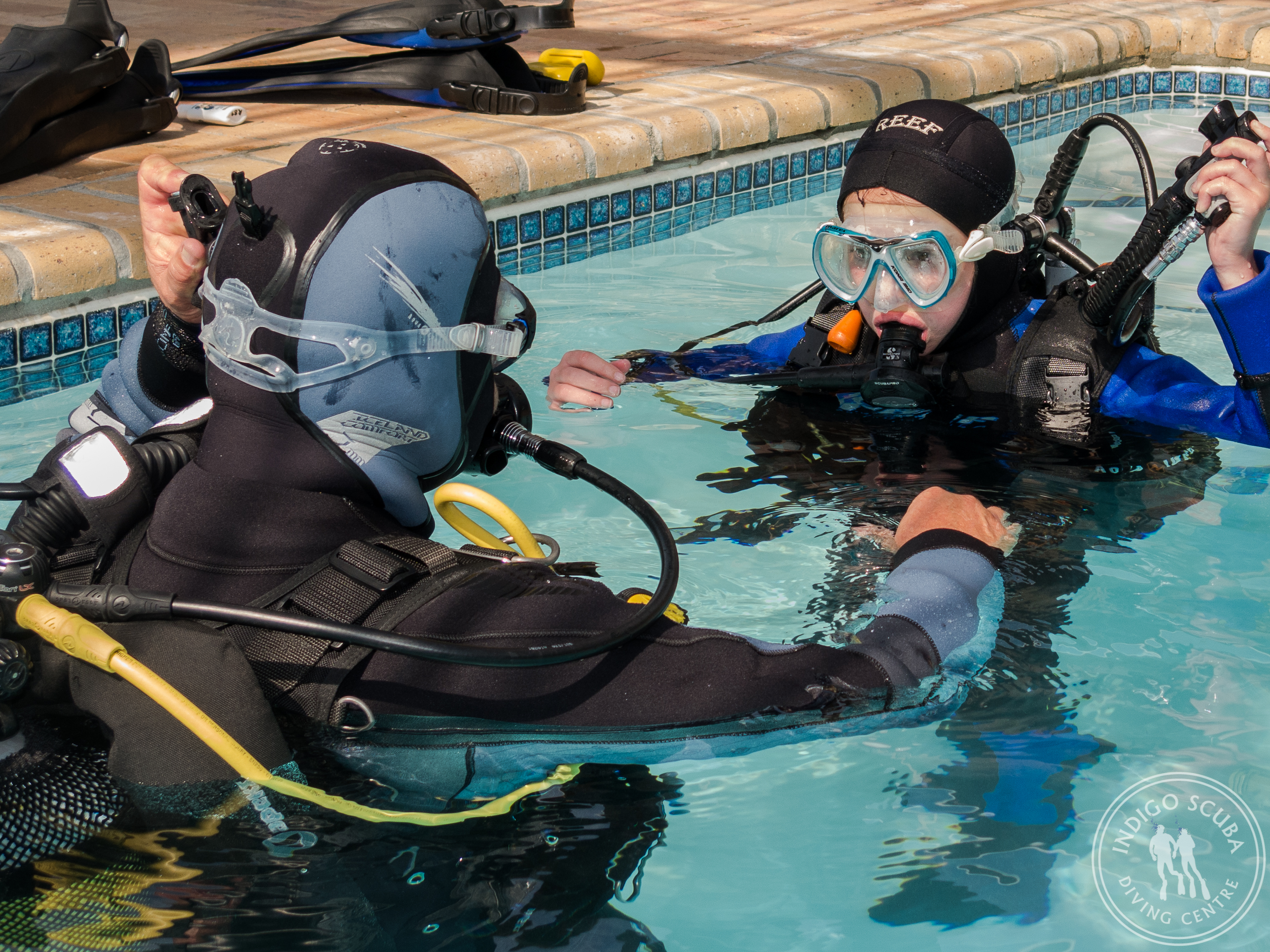 Open Water Diver Pool Session