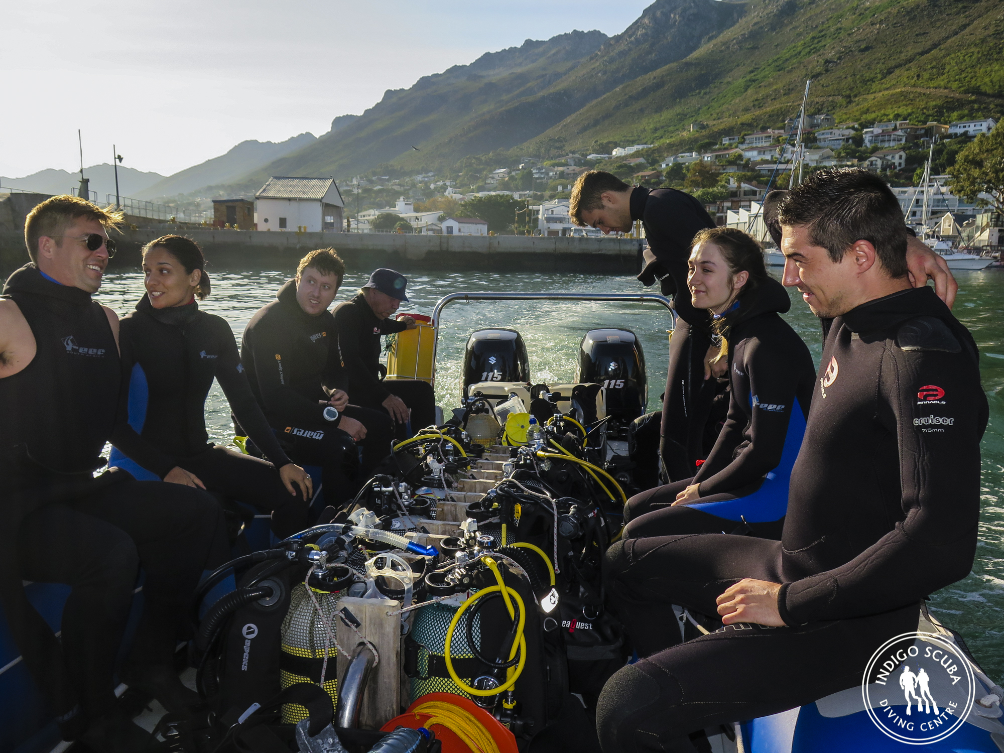 scuba diving in Gordons Bay