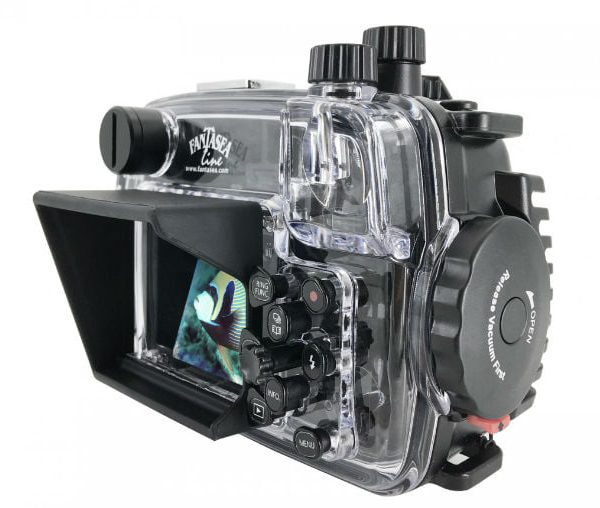Fantasea G7X III underwater housing back view